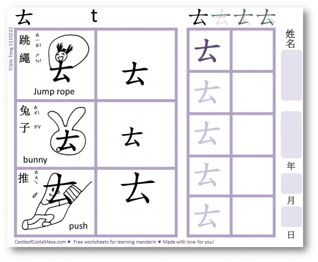 Workbooks this that these those worksheets for kids : Bopomofo ㄅㄆㄇㄈ Mnemonic Worksheets for Children 注音符號助憶鍵 ...