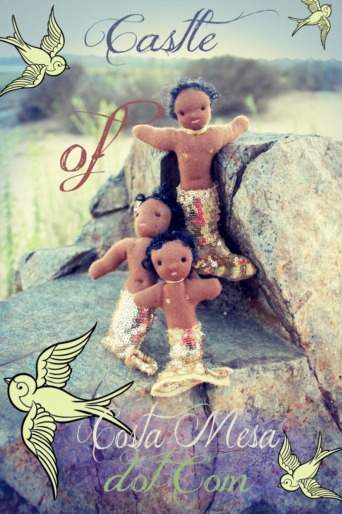 1209 African mermaid family in back bay