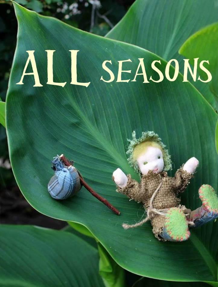 130924 Waldorf Season nature table dolls for all seasons.  All Seasons The Wanderer post pretty