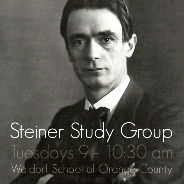 141113 Rudolf Steiner study group Waldorf School of Orange County, Costa Mesa Southern California