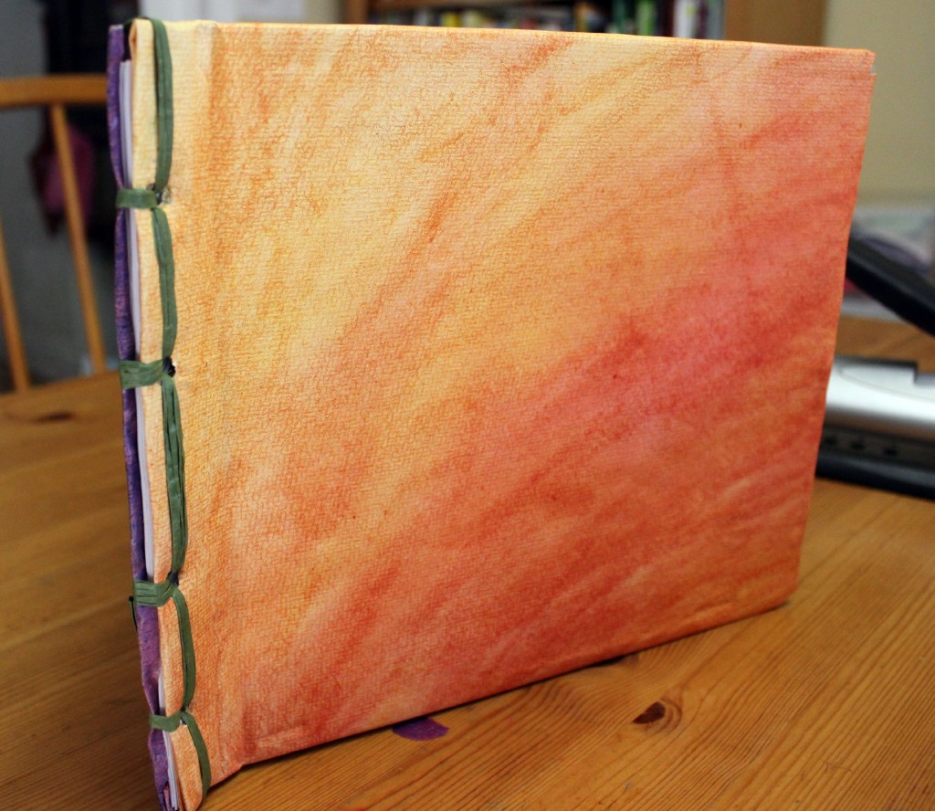 Handmade Book Cover Tutorial : Ancient chinese book binding craft for children to teach