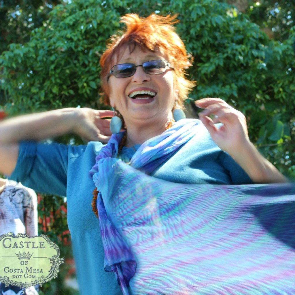 140114 Gisela Shibori scarf square cropped