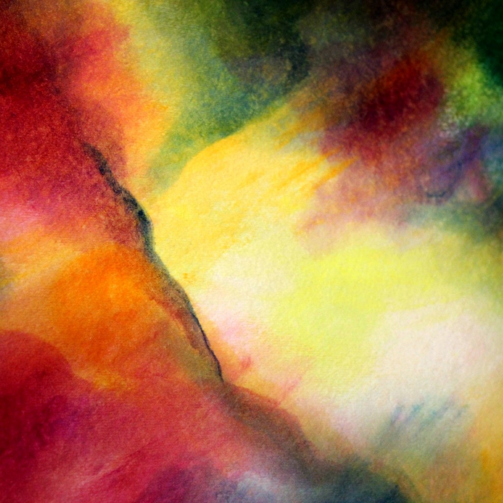 Square. Oil Veil Painting with Russell Evans. Wednesday Morning Craft Group. Waldorf School of Orange County.  CastleofCostaMesa.Com