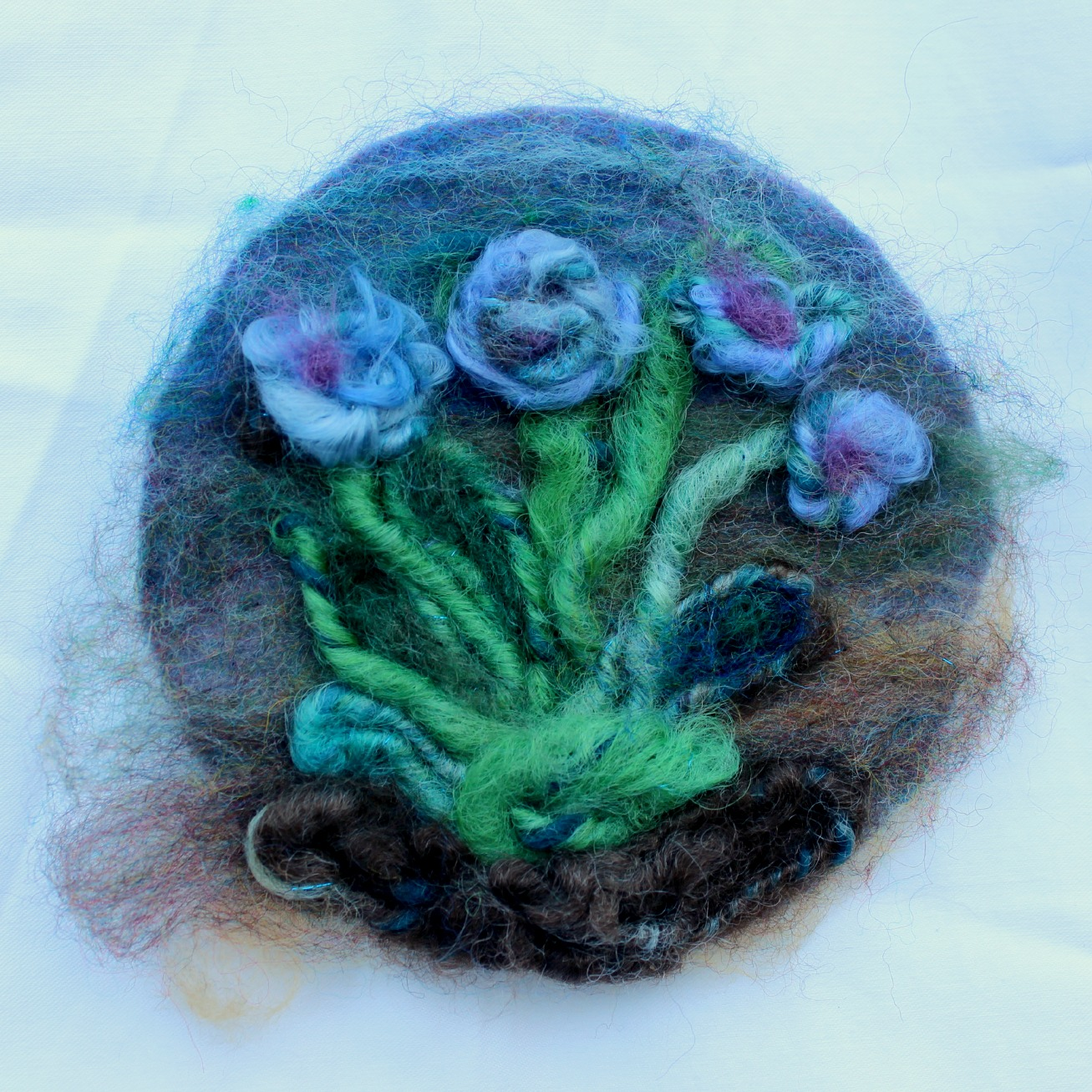 Giselas Needle Felted Shrub Of