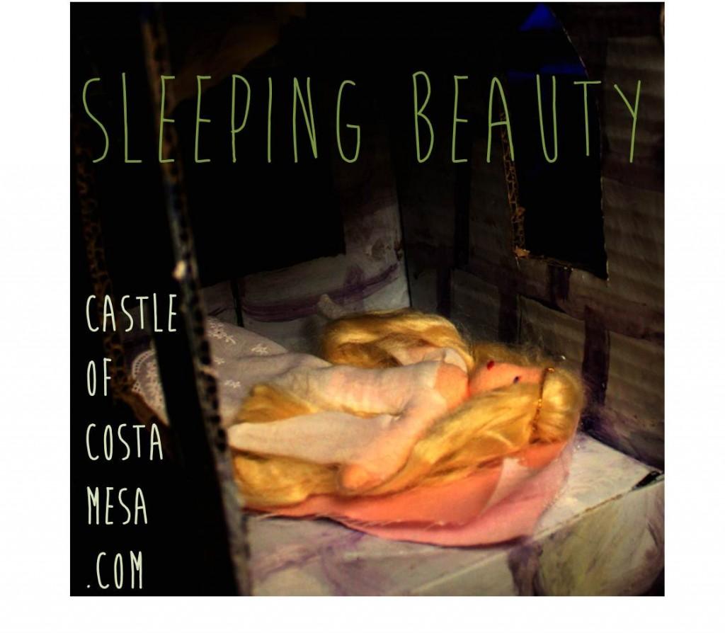 Good night, Sleeping Beauty! Slumber in the tower.