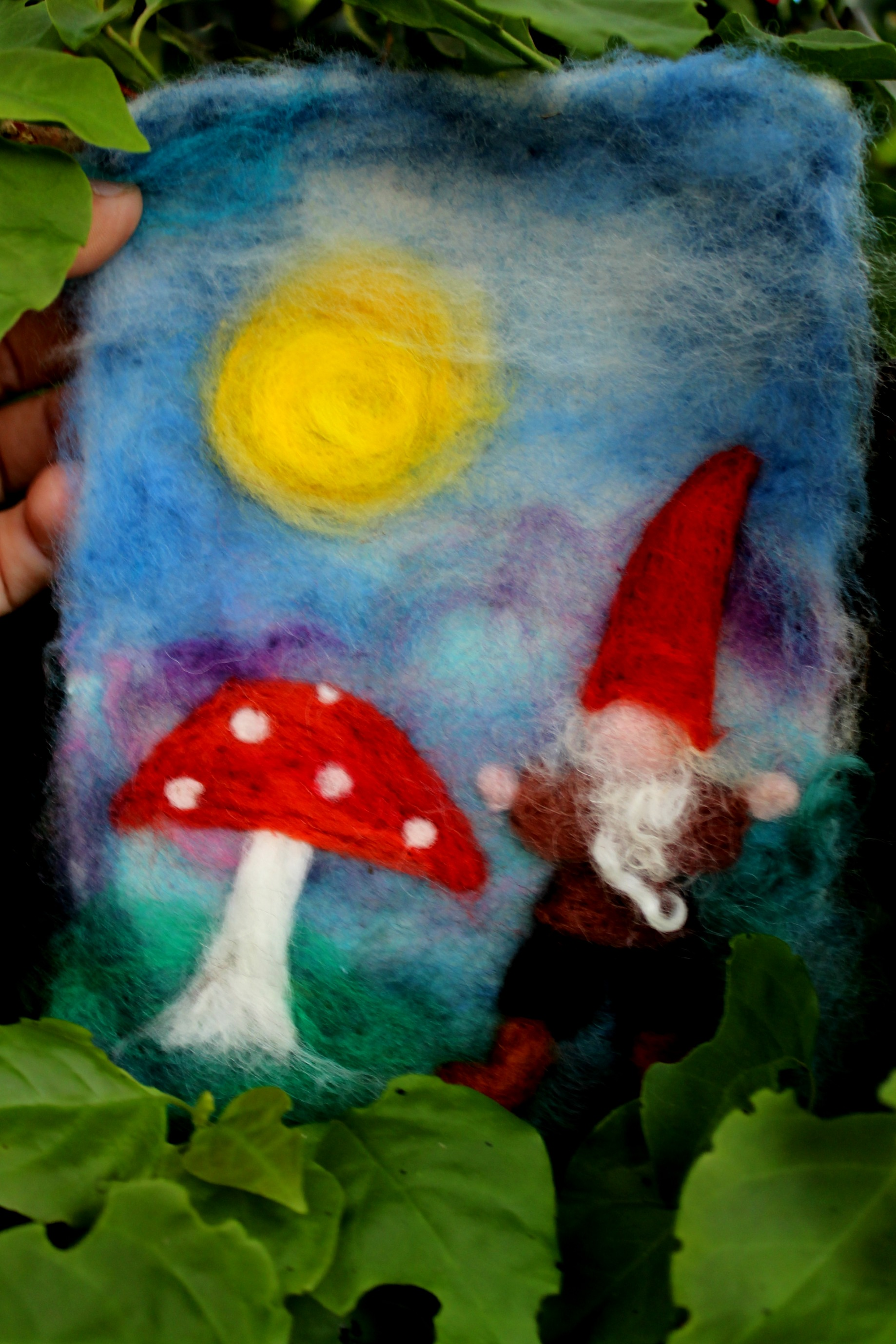 Rachels Gnome And Toadstool Needle