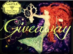 Fall 2012 Handmade Doll Giveaway mermaid by CastleofCostaMesa.Com
