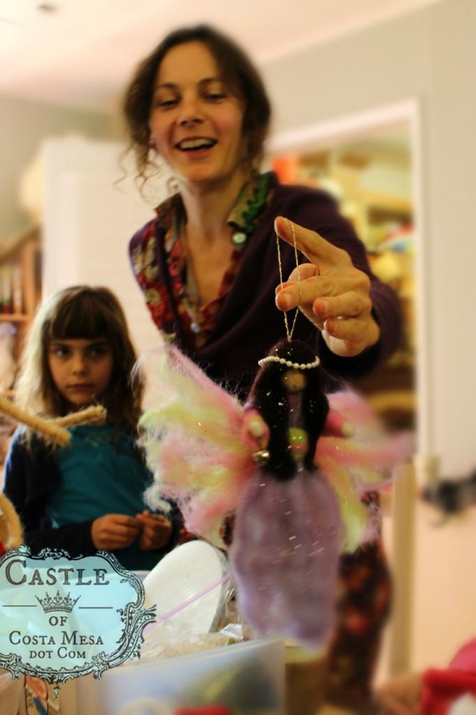 121205 Alena completed her handmade Magic Wool Fairy Doll logo