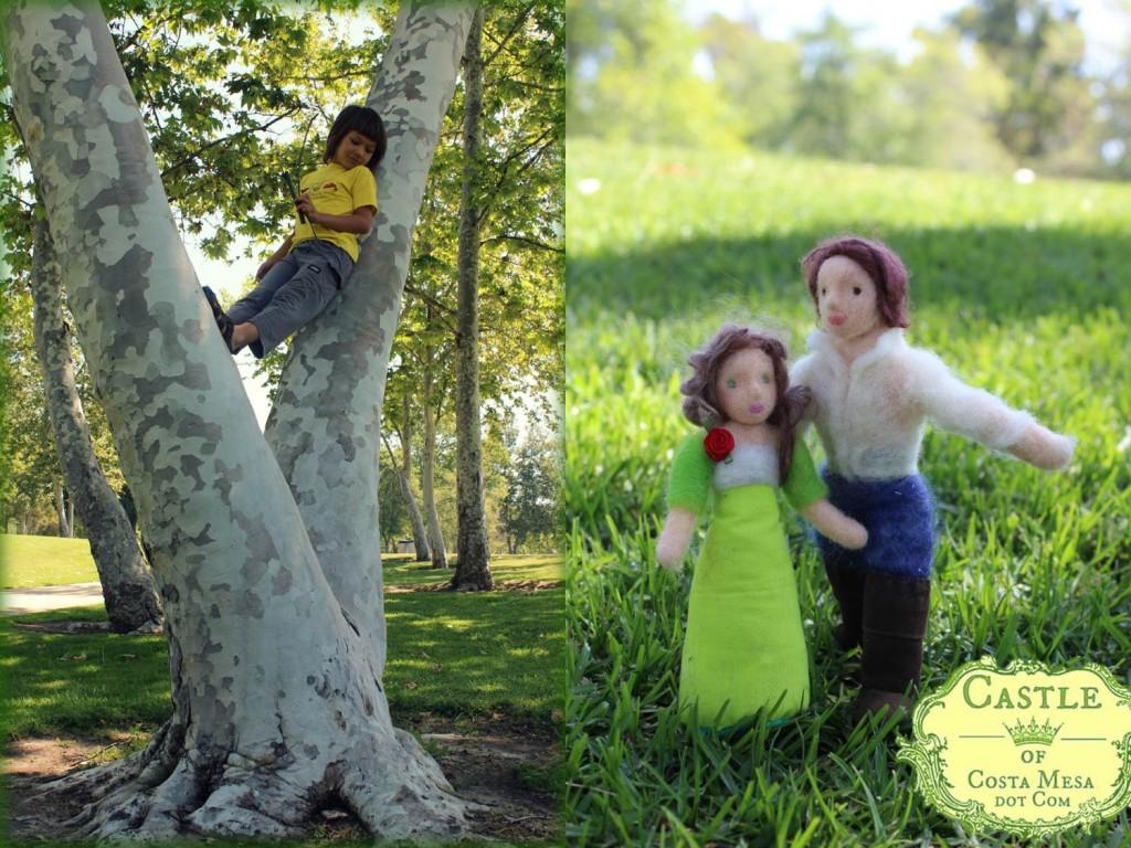 130421 Mason park V in tree and dolls photo