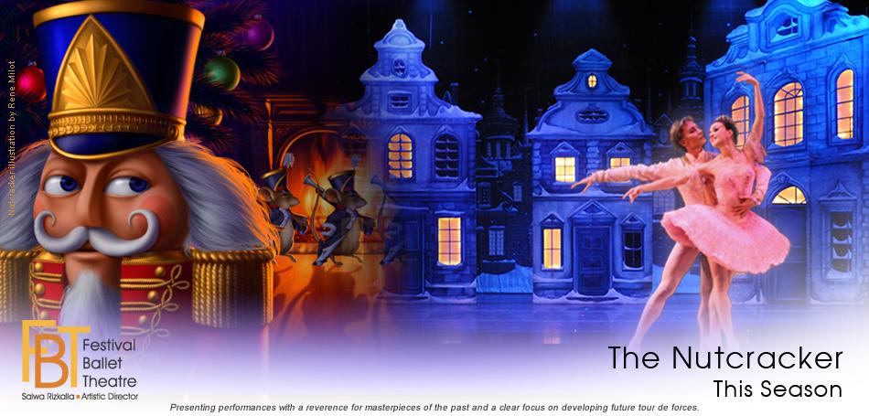 2012 Festival Ballet. Nutcracker Ballet. Irvine Barclay Theater.