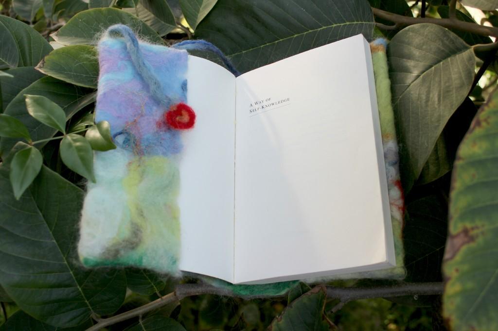 130129 Julie's Artfelt bookcover book opened