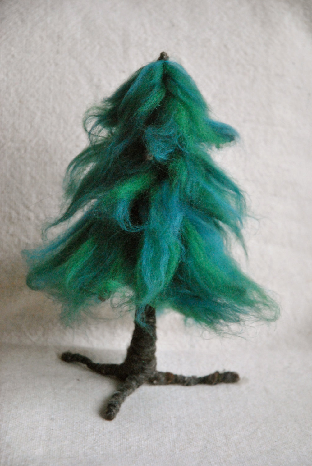 Marcela on Etsy.Com Waldorf inspired needle felted Pine Tree.