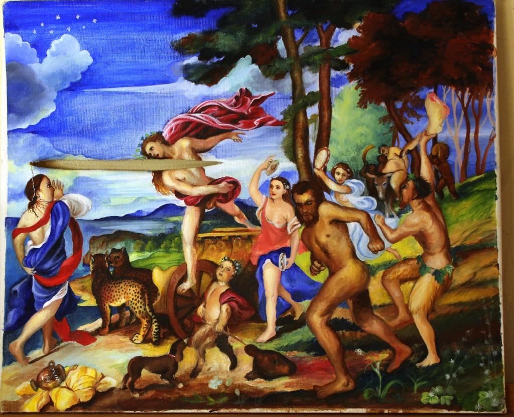 130315 Bacchus et Ariadne by Jzin Teng