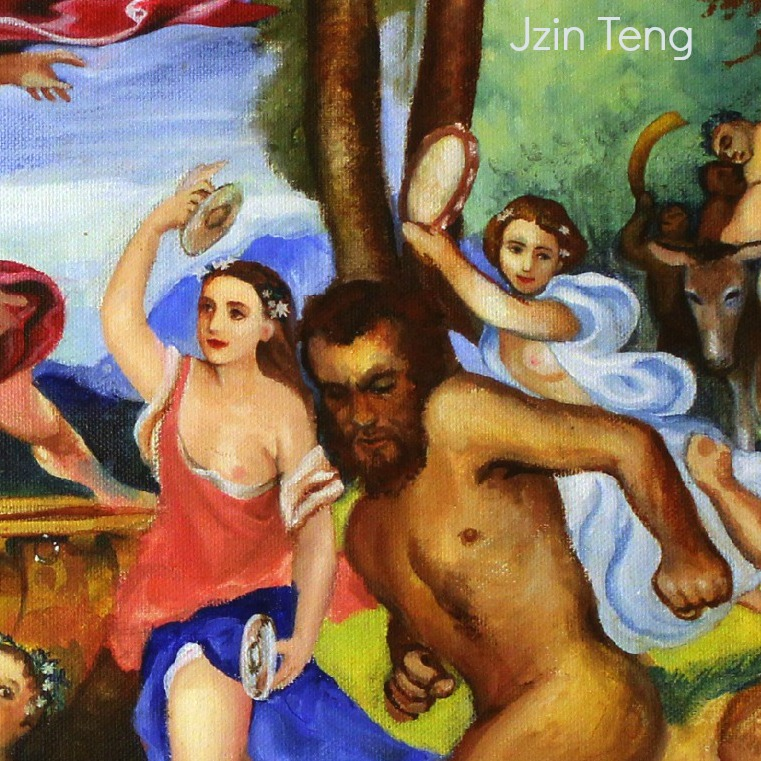 130315 Bacchus et Ariadne by Jzin Teng The bacchantes and nyads knew what Bacchus and Ariadne did not