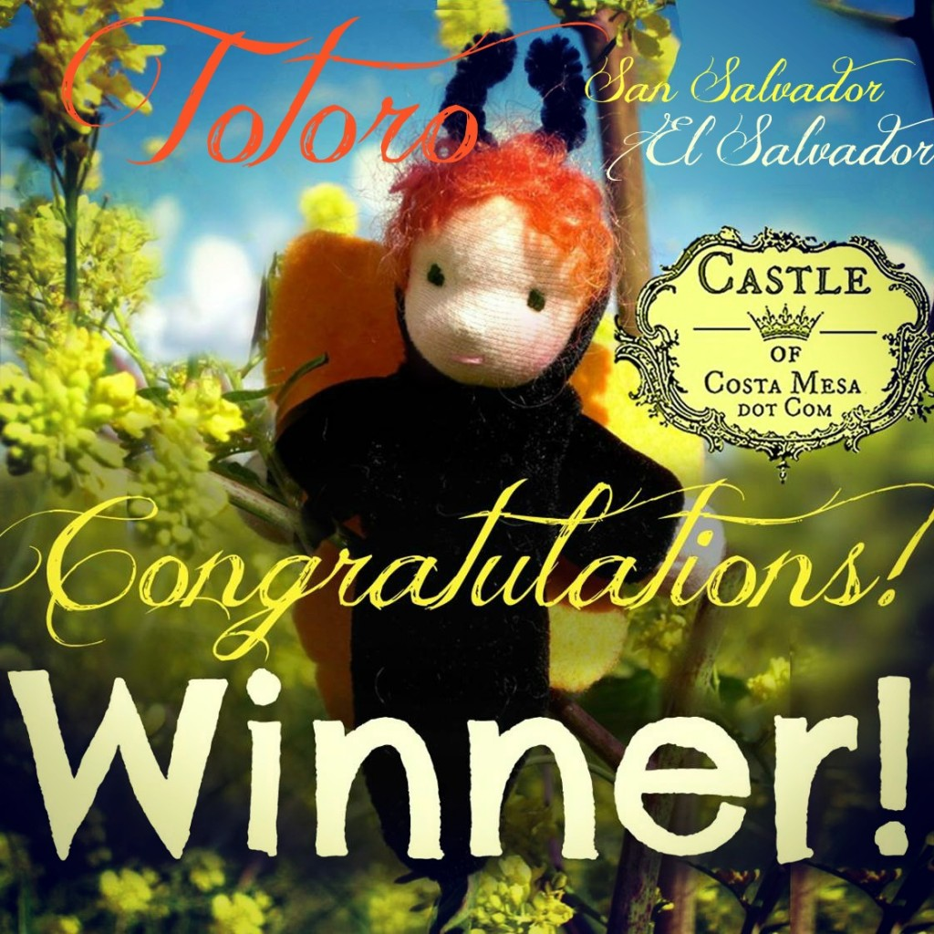 130318 Skylar the caterpillar child giveaway Congratulations! Winner! Totoro Peters, Sam Salvador, El Salvador