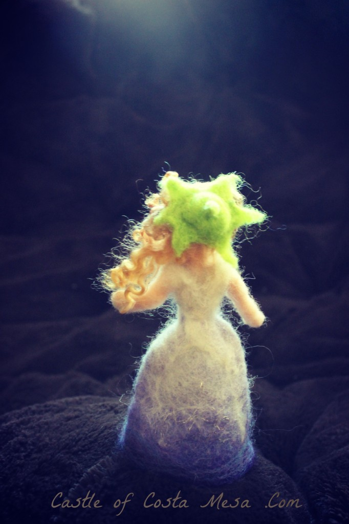 130524 Morning Glory flower fairy doll in piano room backview logo