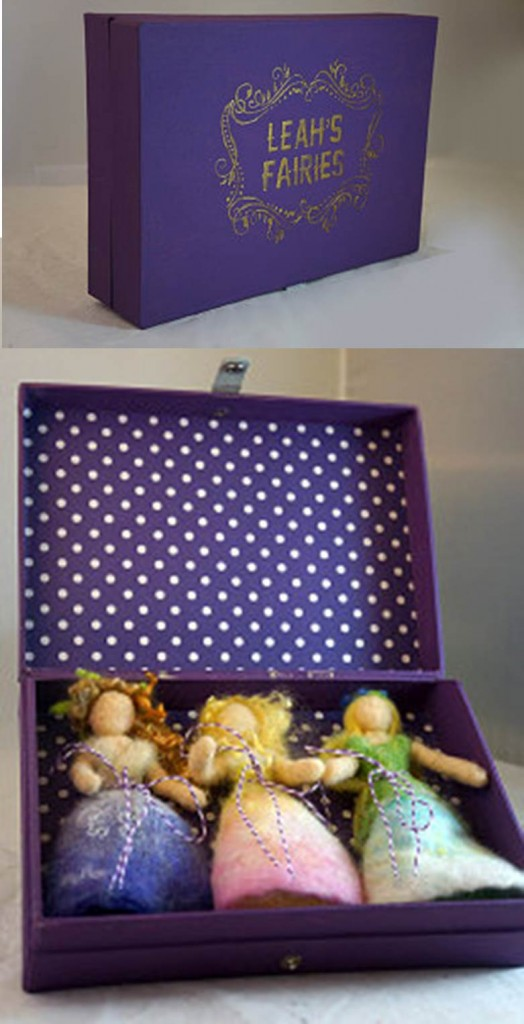 130622 Jen's box of 3 flower fairies for Leah