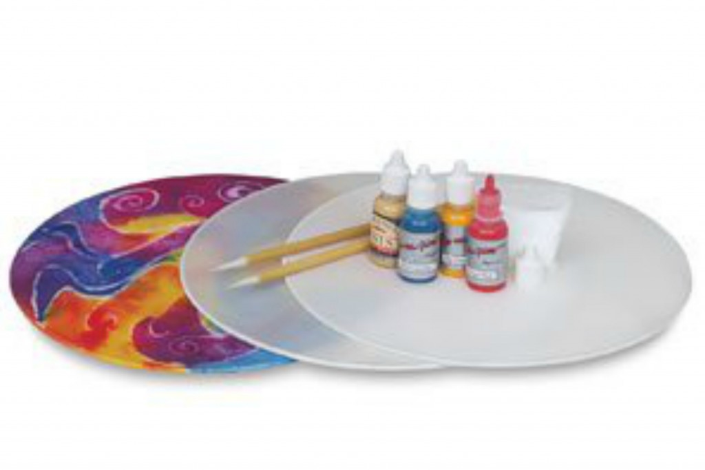 141210 Silk Painting hoop frame set and craft supplies on Amazon
