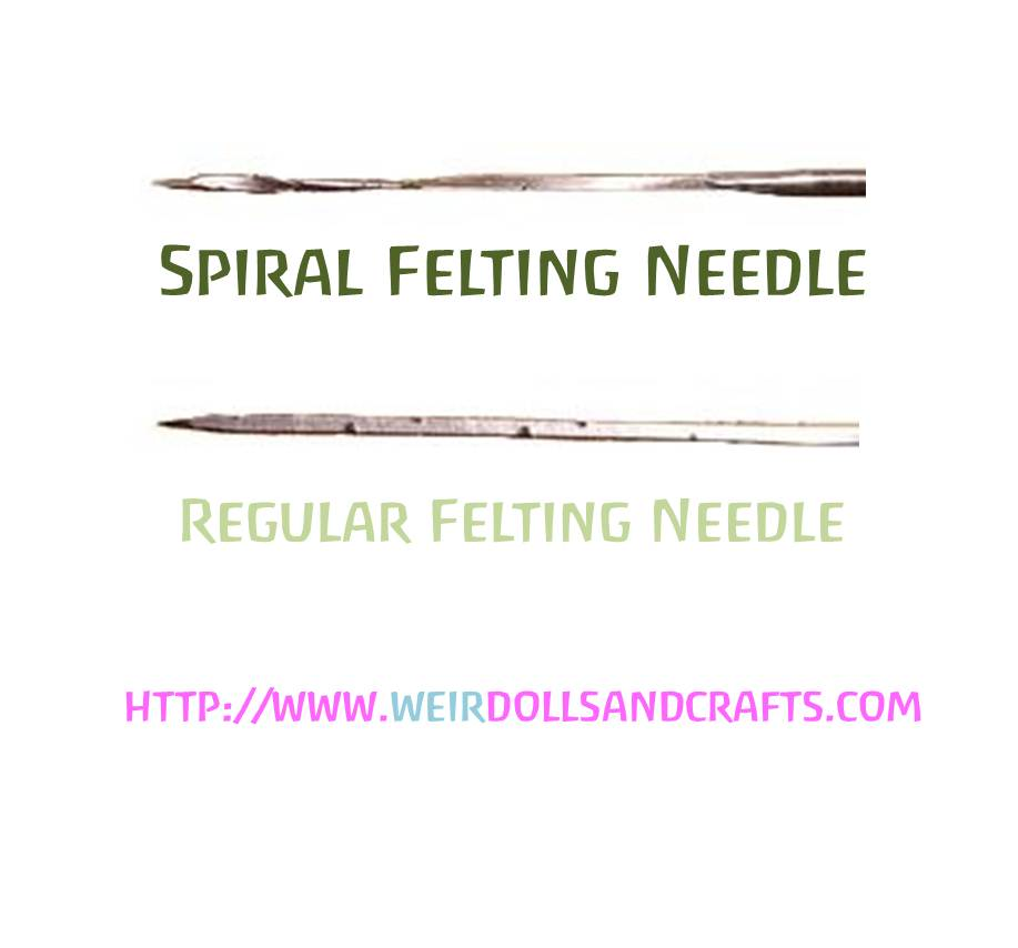 130223 SPIRAL Felting Needles Size 38.