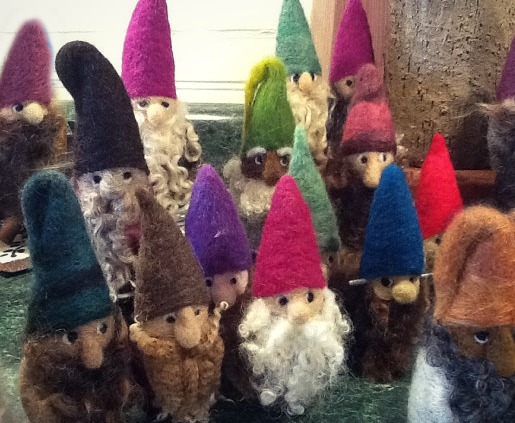 131031 Felting Farmer Lady Lee's gnomes edited