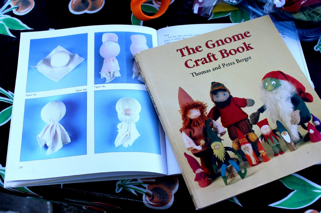 131105 The Gnome Craft Book by Thomas and Petra Berger.