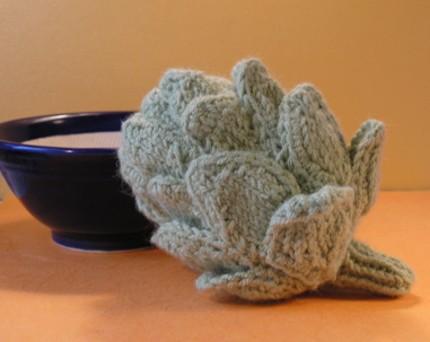 140124 Linnaea Etsy Artichoke - PDF Knitting Pattern