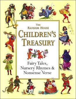 140303 Random House Children's Treasury Fairy Tales, Nursery Rhymes and Nonsense Verse. Out-of-print beloved books with vintage fairy tales illustrations.