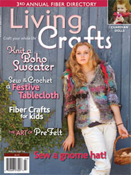 LivingCrafts Magazine Fiona Duthie Guardian Dolls Fall 2010 Misha cover