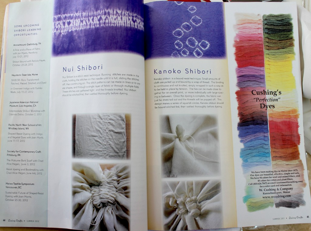 140114 Nui Shibori and Kanoko Shibori pages 44 and 45.