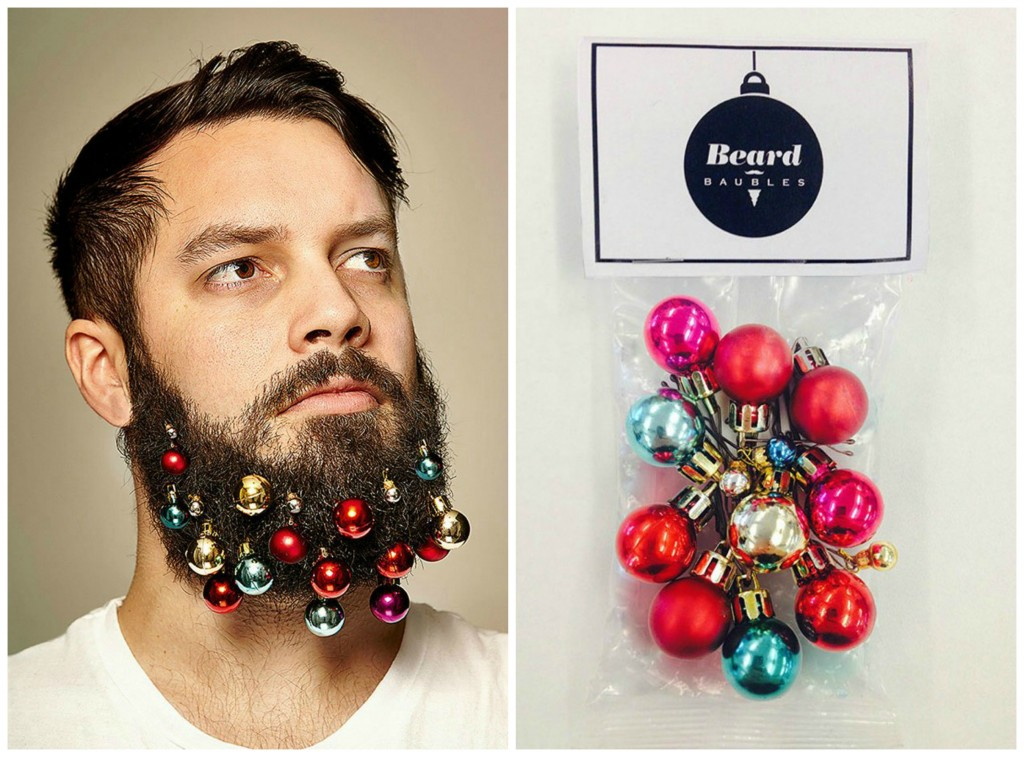 141212 Beard Baubles dyptich hipster christmas tree ornaments