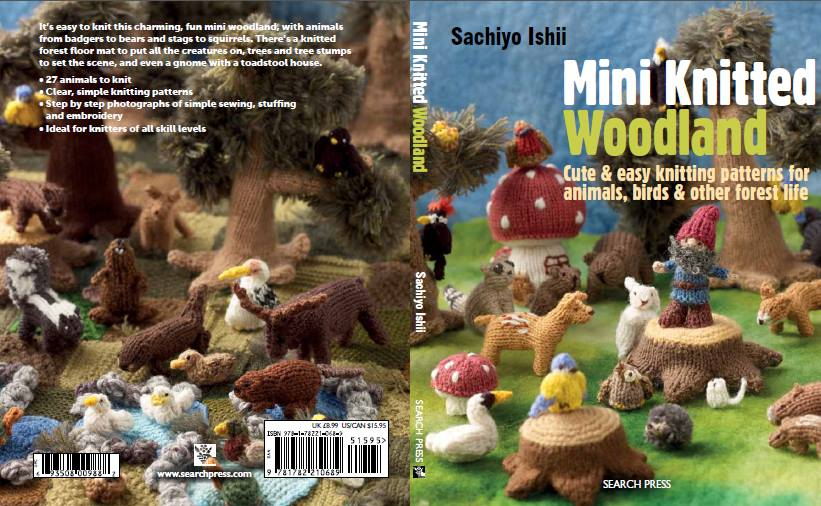 140930 Sachiyo Ishii. Mini Knitted Woodland book out in November 2014