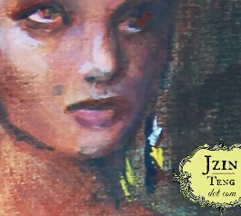 140504 Queen Vashti zoomed in on face. Jzinteng.com