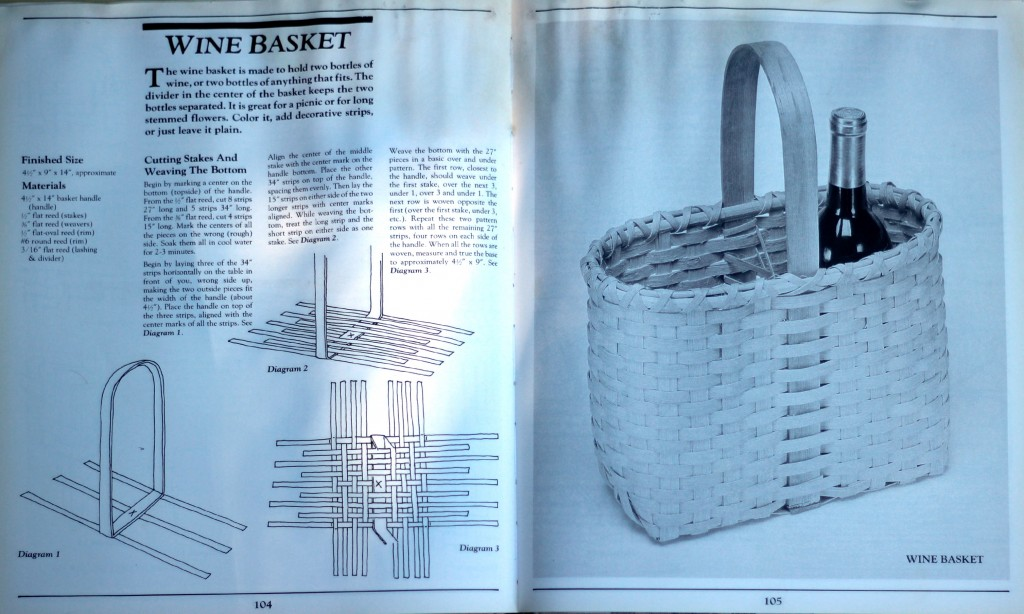 141027 The Basket Book. Over 30 Magnificent Baskets to Make and Enjoy by Lyn Siler Pages 104 105