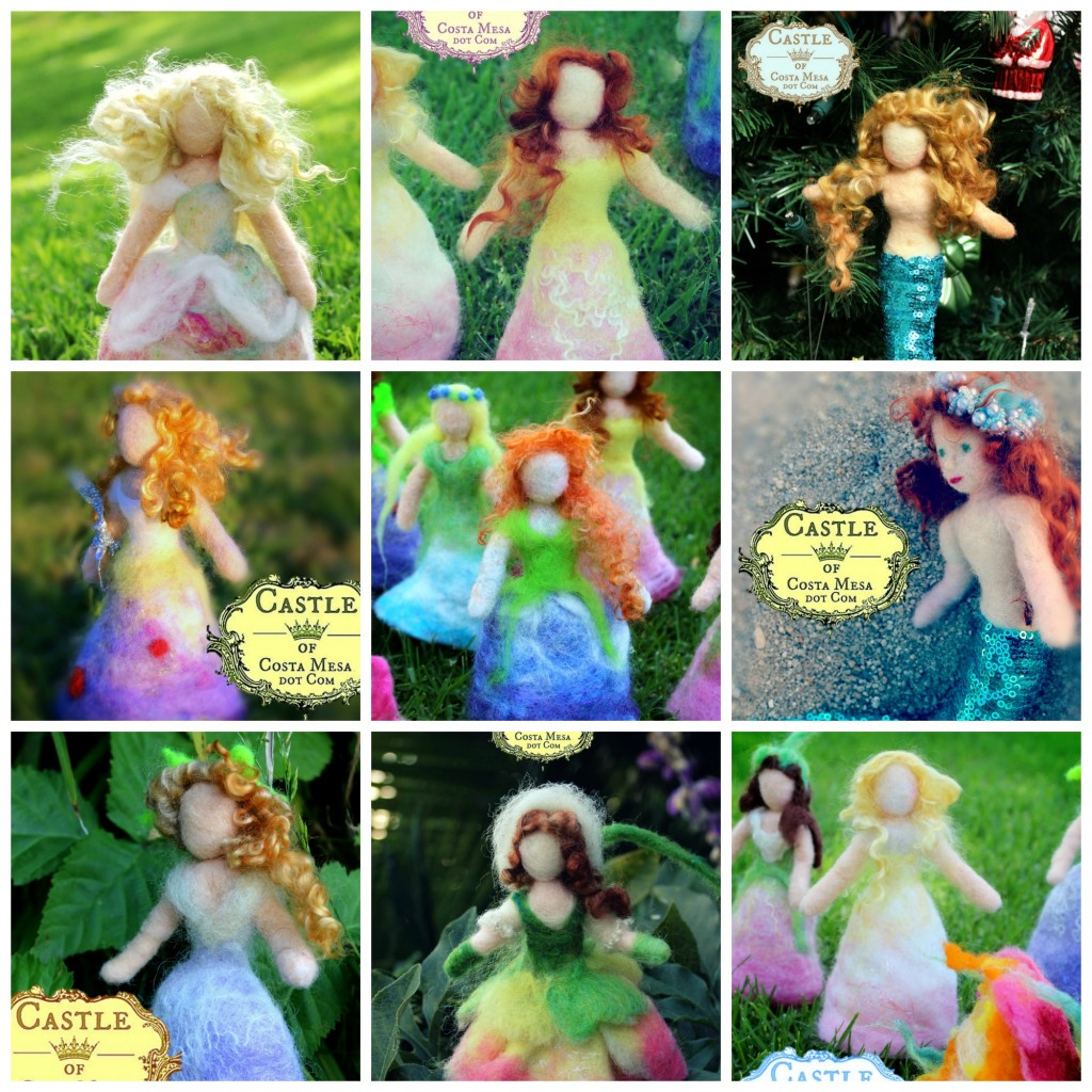 141118 Jzin's needle-felted hair collage DyeingForColour