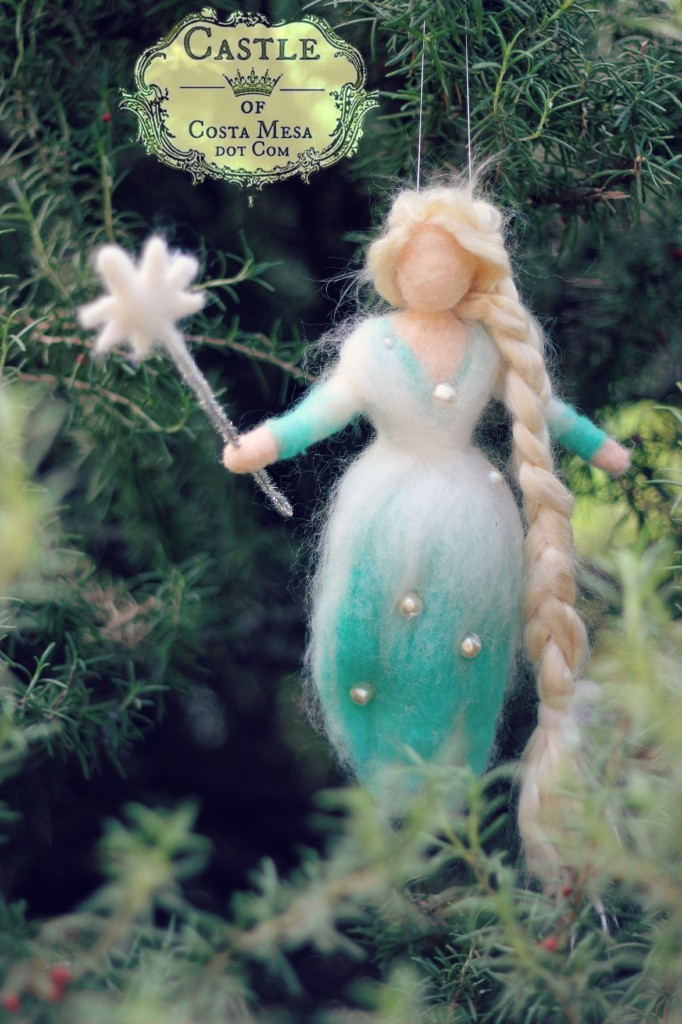 141120 Jzin's Lady Winter with her snow wand in rosemary bush