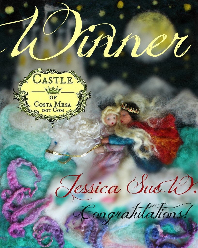 141122 Giveaway Winner Jessica Sue W. The Wild Swan Princes. Eliza carried off by the king 1