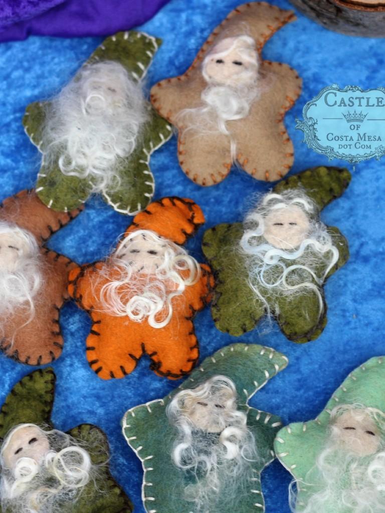 141207 handstitched felt gnome stars.