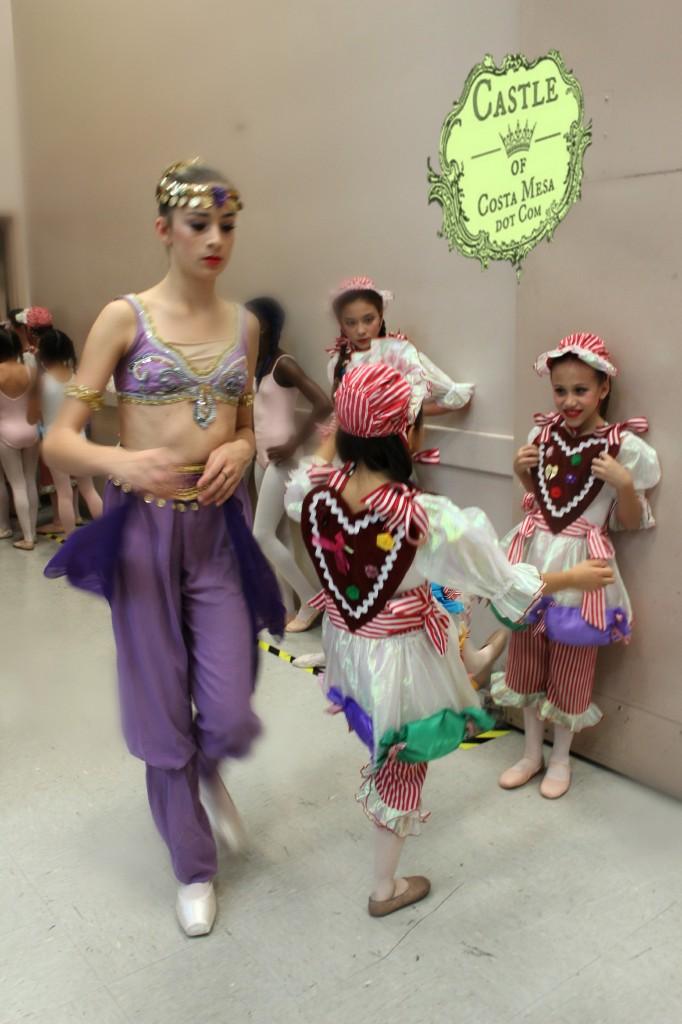141210 Arabian teenager rushed through the hallway of gingersnap girls.