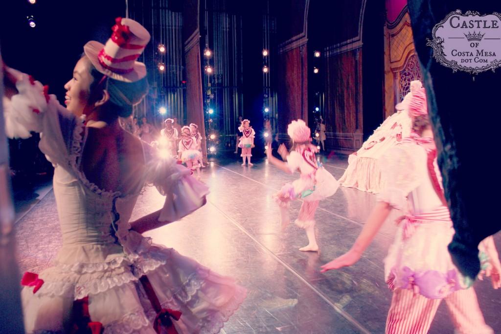 141210 Mirliton Gingersnaps Southland Ballet Festival Ballet Nutcracker back stage dress rehearsal.