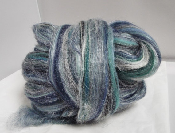 Bay Breeze merino and tussah blended wool