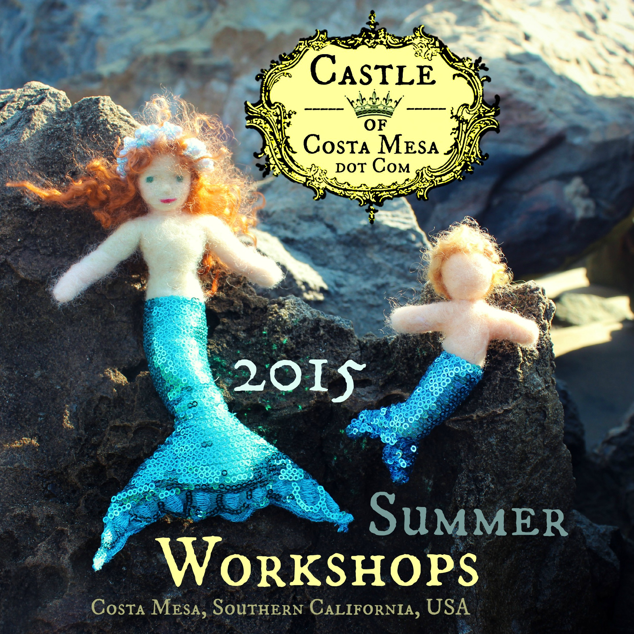 150423 Mermaid Georgian and merbaby 2015 Summer Workshops post.