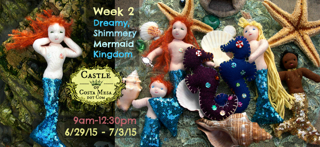 150424 Hi Res. Week 2 Dreamy Shimery Mermaid Kingdom. Done