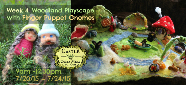 150424 Week 3 HI RES Woodland Playscape with finger puppet gnomes. Done.