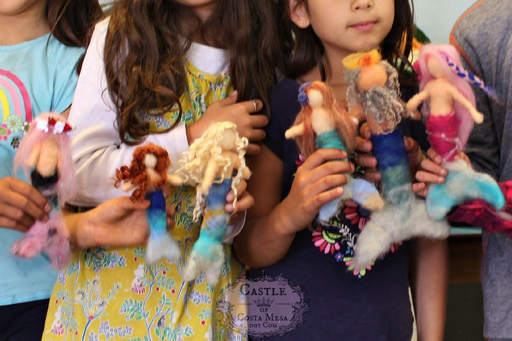 1857 150615 Some of the first mermaid dolls made this morning
