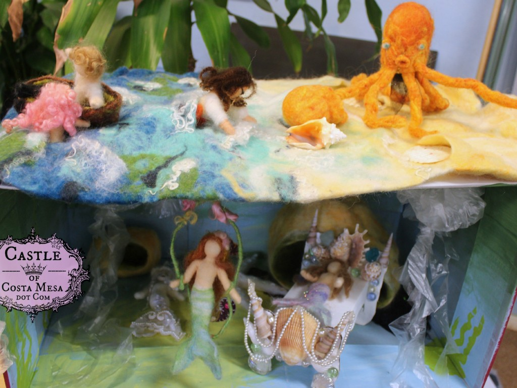 1861 150615 Jzin's Mermaid kingdom playscape diorama drama at the high seas