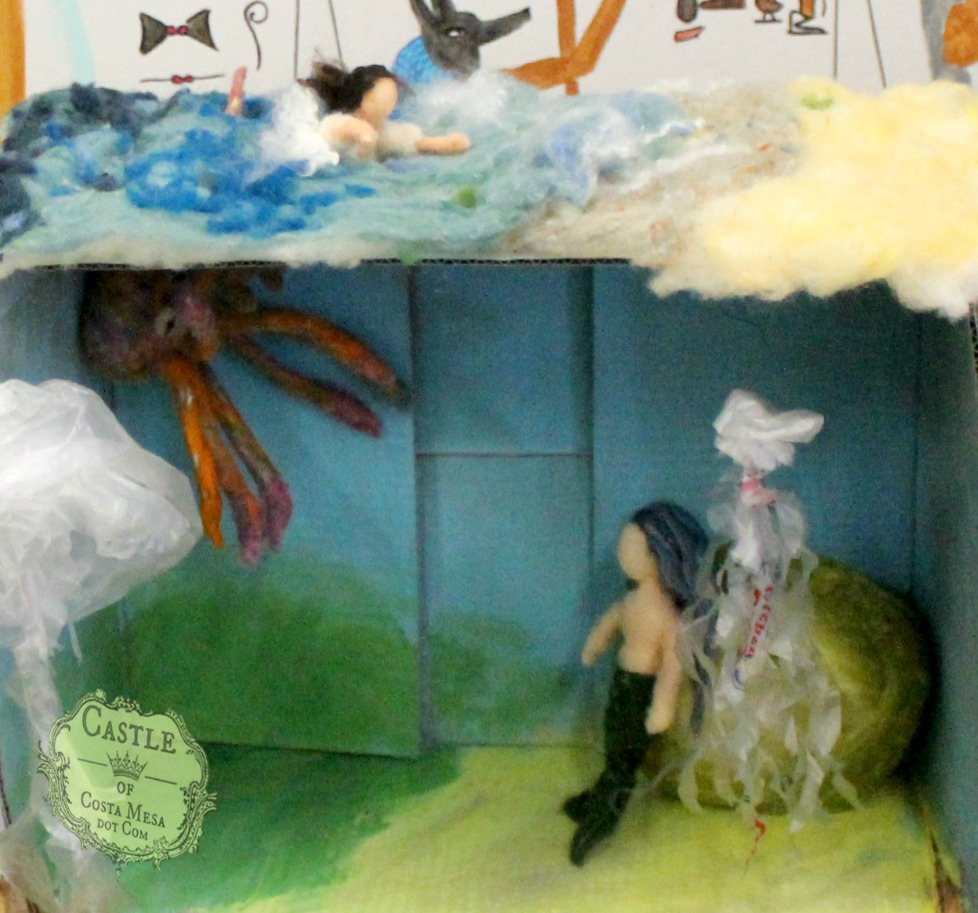 1995 150619 Hannah's mermaid diorama