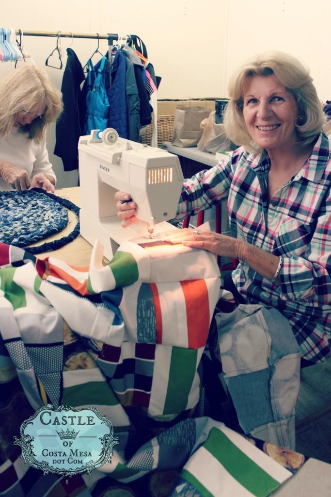 5745 160412 Christine Newell sewing machine